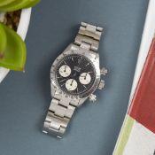 Rolex Daytona 6265 Men Stainless Steel Chronograph Watch