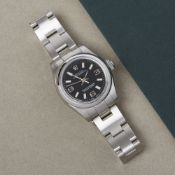 Rolex Oyster Perpetual 26 176200 Ladies Stainless Steel Watch