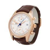 IWC Portuguese Classic IW390402 Men Rose Gold Chronograph Watch