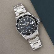 Rolex Submariner Date 16610 Men Stainless Steel Watch
