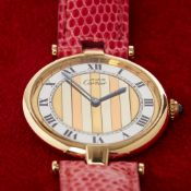 Cartier Must de Cartier Tri-Colour 35338 Ladies Gold Plated Watch