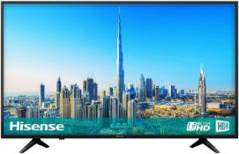 Hisense h50a6200uk 50 inch 4k ultra hd smart tv [black] 0x0x0cm rrp: £694.0
