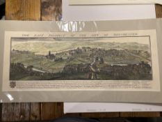 Five Hand Coloured Samuel And Nathaniel Buck Re-Prints.