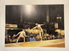 Challenge Martini Epr_e By Liz Hoque Signed Limited Edition Print
