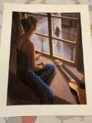 The Teacher By Mark Keller Print