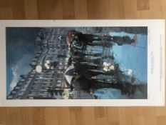 Umbrellas By Franklyn J Scott Limited Edition Signed Print