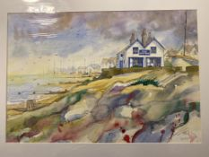 Original Water Colour Old Neptune Whitstable