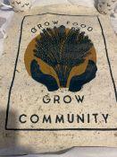 Rosanna Morris Grow Food, Grow Community Signed limited Edition