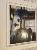 Mark Keller Espresso By The Bay Signed Limited Edition Print RARE