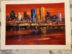"""Madjid """"Manhattan Skyline"""""""