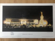 Buckingham Palace By Franklyn J Scott Limited Edition Signed Print