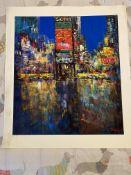 Madjid New York City Collectible Giclee Print