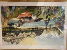 Three Sandra Dieckman Signed Prints