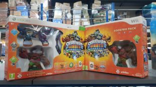 (R3M) 2 Items : 1 X Skylander Giants Xbox 360 Starter Pack & 1 X Skylanders Giants Wii Booster Pack