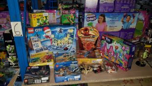 (R3L) 13 Lego Items To Include City, Ninjago, Trolls, Creator, Classic, City & Star Wars
