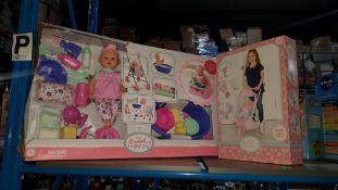 (R30) 2 Items : 1 X My Sweet Baby Combo Set & 1 X My Sweet Baby Tri Pushchair