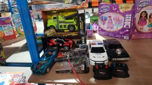 (R3M) 7 Items : To Include Thunder Charger, Adventure Wheels, RC Night Racer, Fly Wheels & 2 X Fast