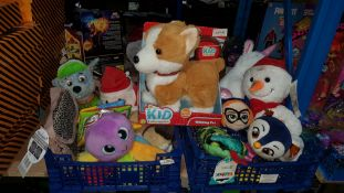 (R3F) A Quantity Of Soft Toys To Include Paw Patrol, Top Wings, little Tikes & Kid Connection Walki