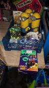 (R3H) To Include 3 X Minions, 1 X Minions Wind Up Toy, 1 X Minions Trading Game Pack & 1 X Premier