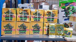 (R7G) 9 X Teenage Mutant Ninja Turtles Way of The Ninja (2010) Trading Card Packs (24 Packs Per Box