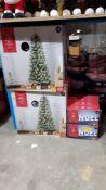 (R7E) 12 Items : 4 X Pop Up Snowy Tree Pre Lit (5 Ft Ð 1.5M) & 8 X Battery Operated Noel Light