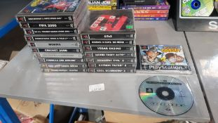 (R4I) PlayStation Retro. 20 X PlayStation Games. Grand Theft Auto, Resident Evil 2, Syphon Filter 2