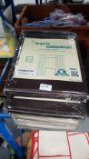 (R4L) Home. 5 X Best Home Decor Curtain Drapes ( 2 X Beige, 2 X Dark Brown & 1 X Grey) New