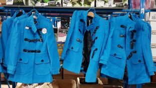 (R4G) Clothing. 8X Atmosphere Coat Blue. 5 X Size 14 & 3 X Size 10 (RRP £30 Each) New
