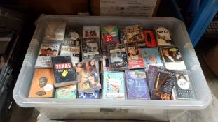 (R6E) Audio. A Quantity Of Recorded Cassette Tapes. To Include The Corrs, Glen Miller, The Ratpack,