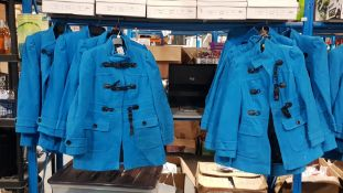 (R4H) Clothing. 10X Atmosphere Coat Blue. 4 X Size 16 & 6 X Size 8 (RRP £30 Each) New