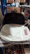 (R6G) Holdalls. 7 Items : 3 X Brown Laptop Bag, 1 X Urban Backpack Grey & 3 X Reyleo Black Backpac