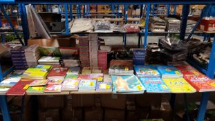 (R9M) Books. Approx. 130 X Mixed Books. To Include Travel, Kids, Education, Novel & Small Book Sets