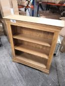 constance bookcase oak
