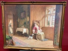 Painting19th-century 1890 by Dorofield Hardy 1882-1920