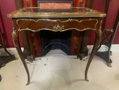 Bijouterie Table With Glass 19th-Century