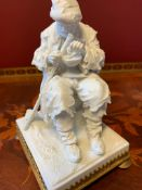 Msissen bisque porcelain figurine