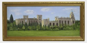 Witley Court Oil on Board
