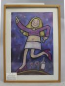"""Party Girl"" Original Work by Debi Potter"