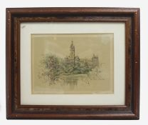 The University Glasgow Small Signed Picture
