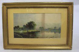 Victorian Landscape Print