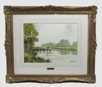 Original Digby Page Artwork Set in Gilt Frame