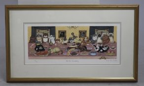 """The 10th Anniversary"" Limited Edition Linda Jane Smith Print"