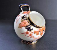 Antique Royal Crown Derby Vase Imari Pattern Date 1916