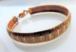 Sterling Silver Gilt Bracelet