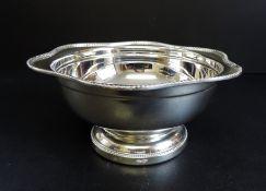Vintage Arthur Price Silver Plated Bowl