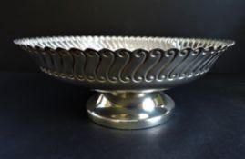 Antique Art Nouveau Silver Plated Pedestal Centrepiece Dish