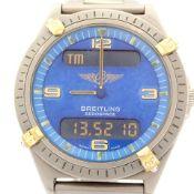 Breitling / Aerospace - Gentleman's Titanium Wrist Watch