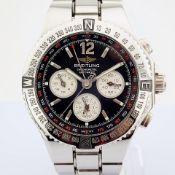 Breitling / A39363 - Gentleman's Steel Wrist Watch