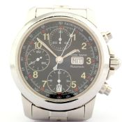 Maurice Lacroix / 39721 Automatic Chronograph - Gentleman's Steel Wrist Watch