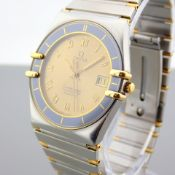 Omega / Constellation Chronometer - Gentleman's Gold/Steel Wrist Watch